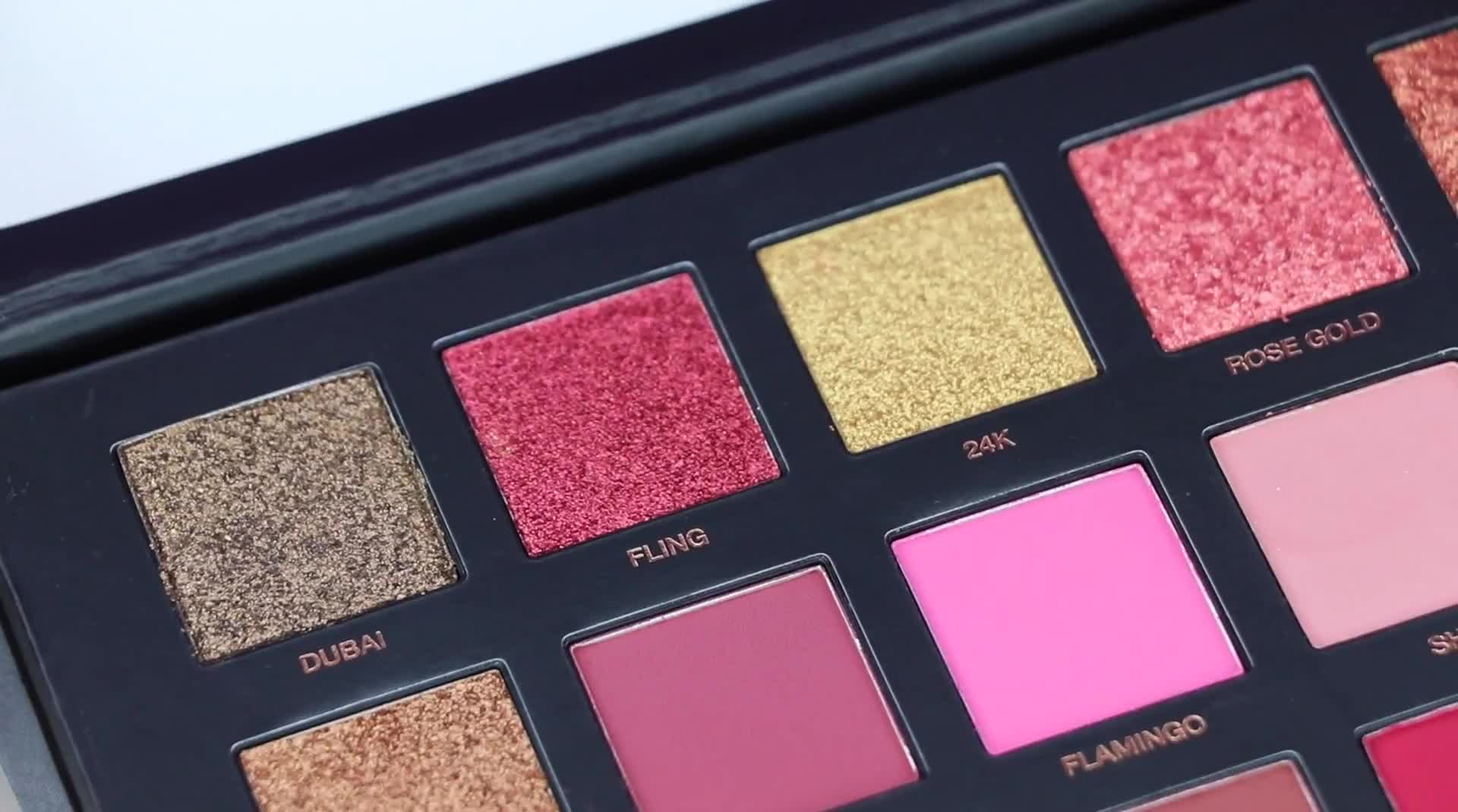 Huda Beauty Rose Gold Edition Palette | SWATCHES