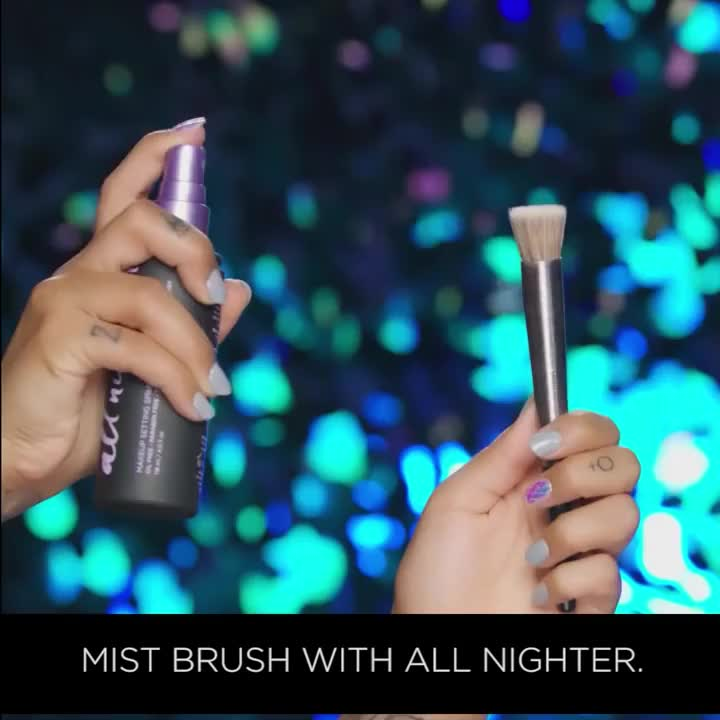 Get Glowed Up | All Nighter Makeup Setting Spray Hacks | Urban Decay
