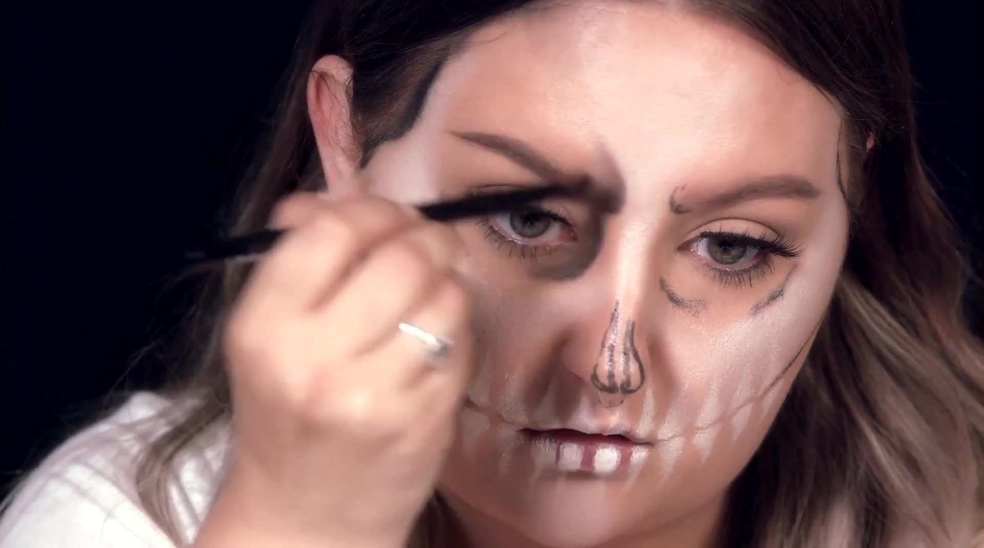 GET THE HALLOWEEN LOOK: SKELETON QUEEN || @RAWBEAUTYKRISTI