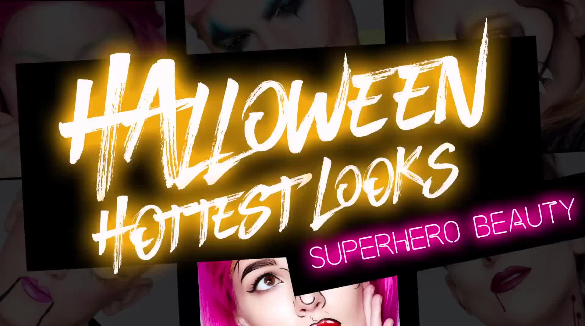 GET THE HALLOWEEN LOOK: SUPERHERO BEAUTY || @SARAHMCGBEAUTY