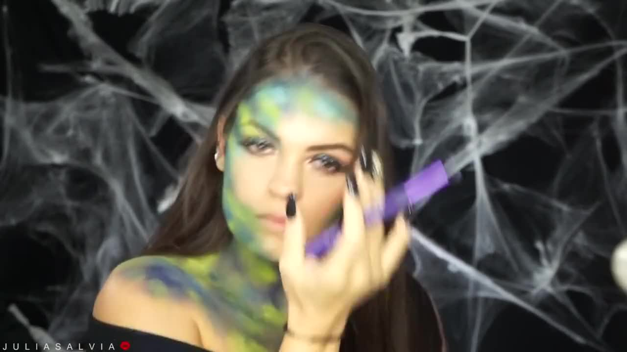 Alien / Martian MAKEUP Tutorial | Collab with Noblandmakeup