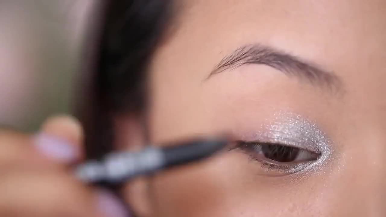 Black Silver Smokey Prom Makeup Tutorial Best How To Makeup