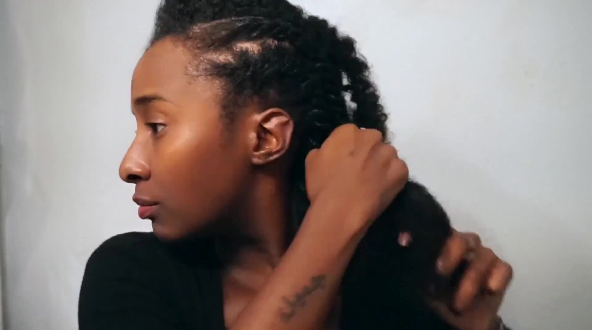 FLAT TWIST STYLE + How to Get Instantly FULLER EDGES!