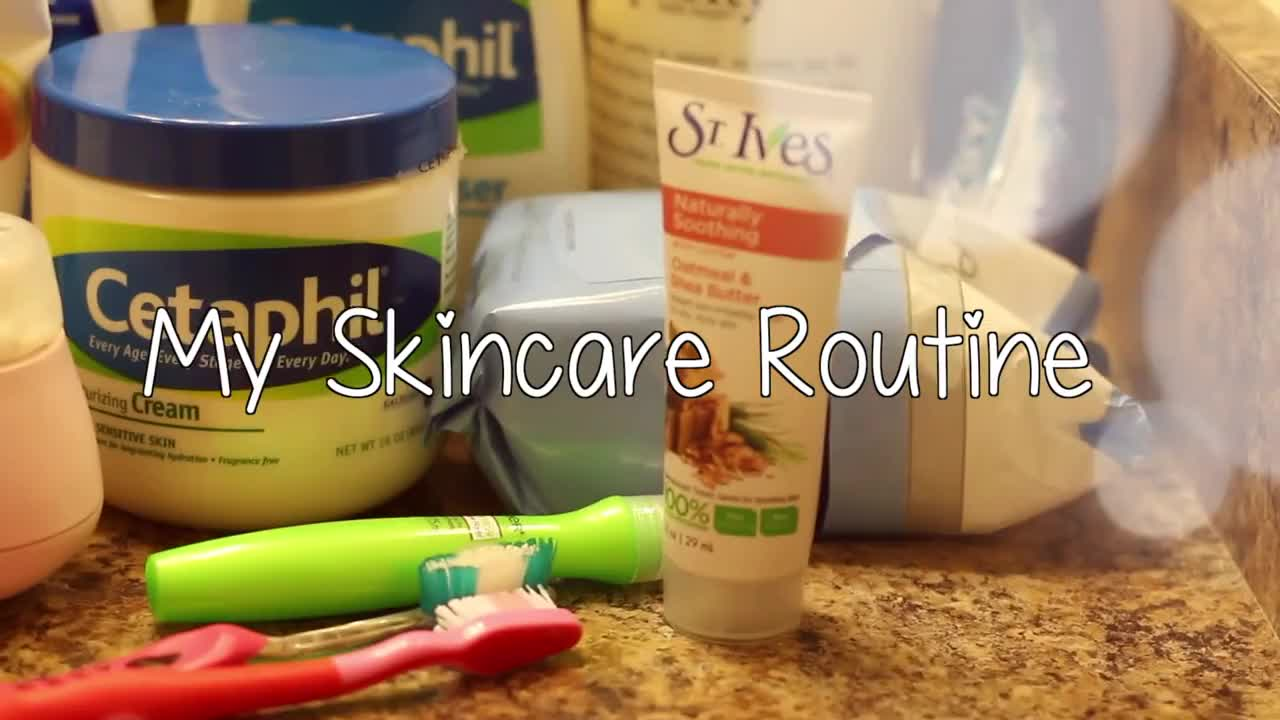 My Skincare Routine ♡ (and other things too!) - ThatsHeart