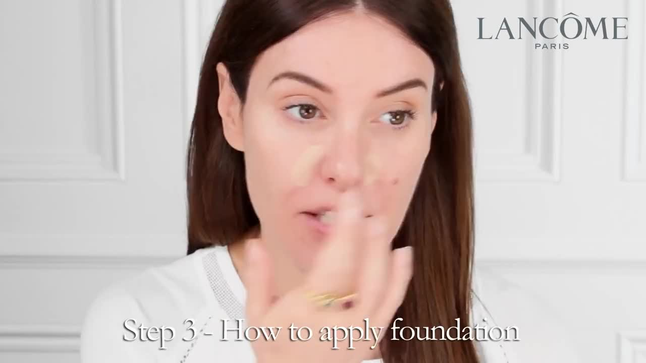 The power of foundation tutorial: Tips on how to apply foundation by Lisa Eldridge with Lancôme