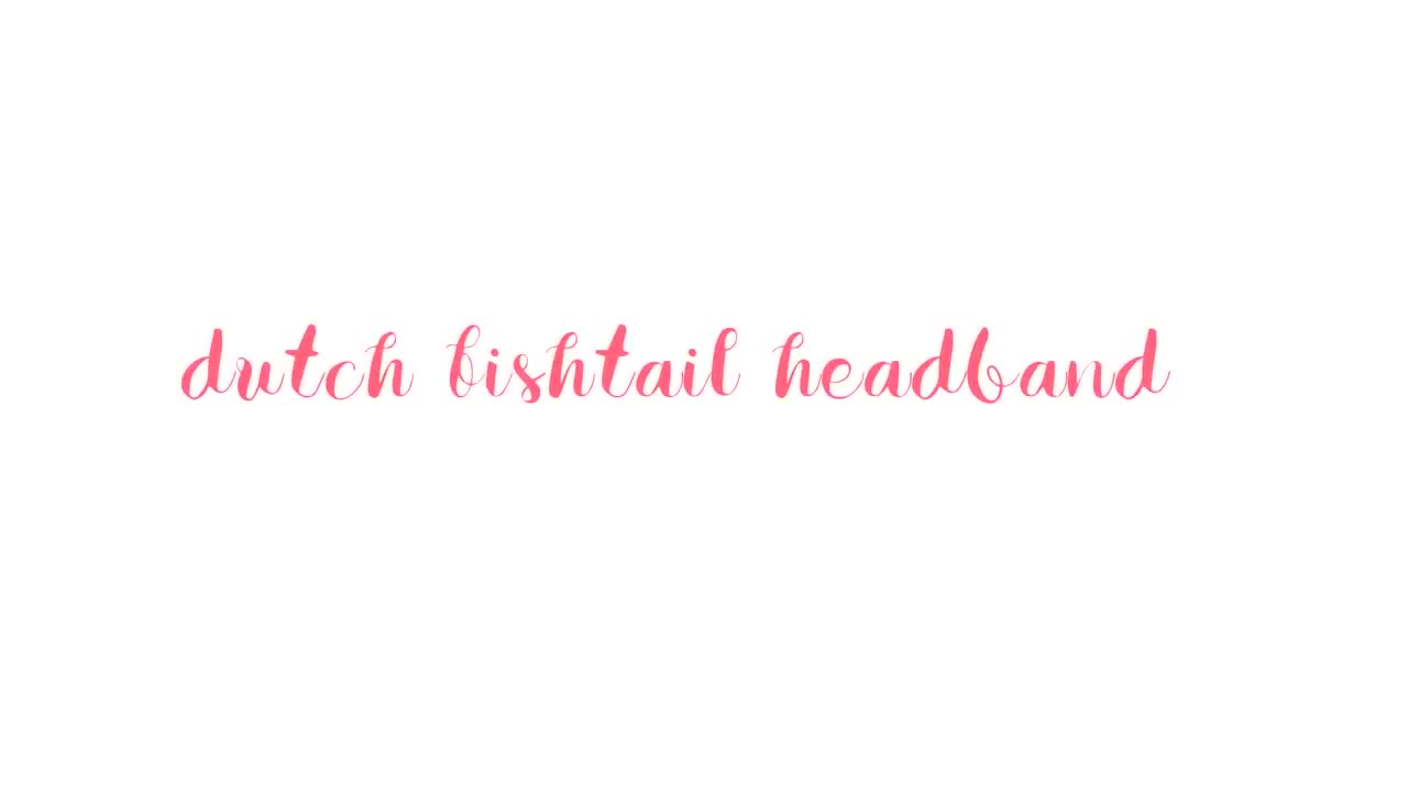 Hair Tutorial: Fishtail Sidebraid & Fishtail Headband! | Charmaine Dulak