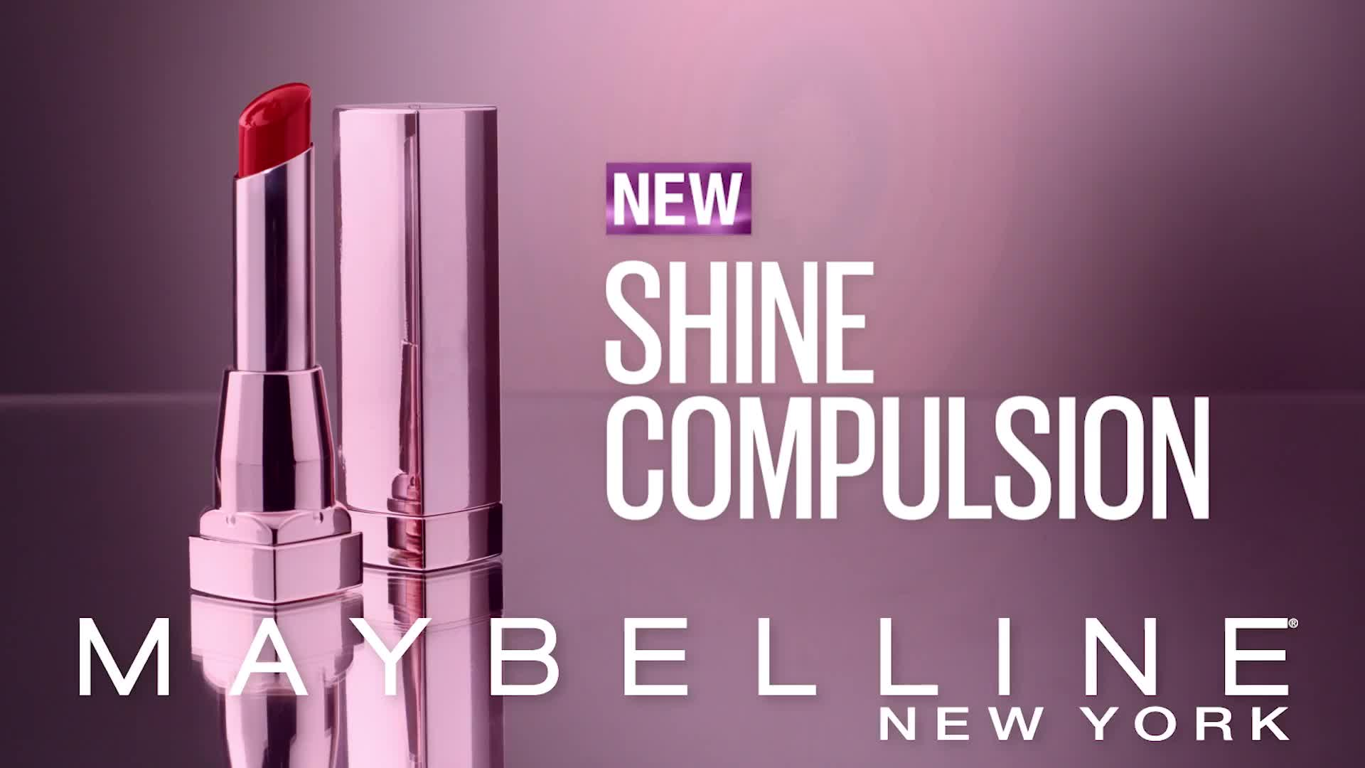 Color Sensational Shine Compulsion Lipstick | Maybelline New York
