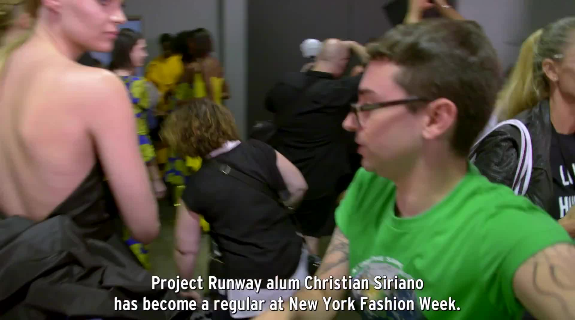 Redken / Daily Front Row Presents:  Backstage Exclusive at Claudia Li's SS18 Show