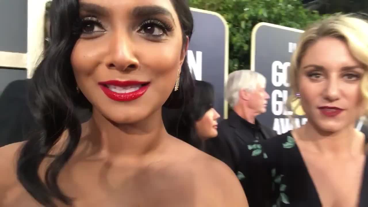 VLOG! GOLDEN GLOBES! Dreams Really do Come True | Deepica Mutyala