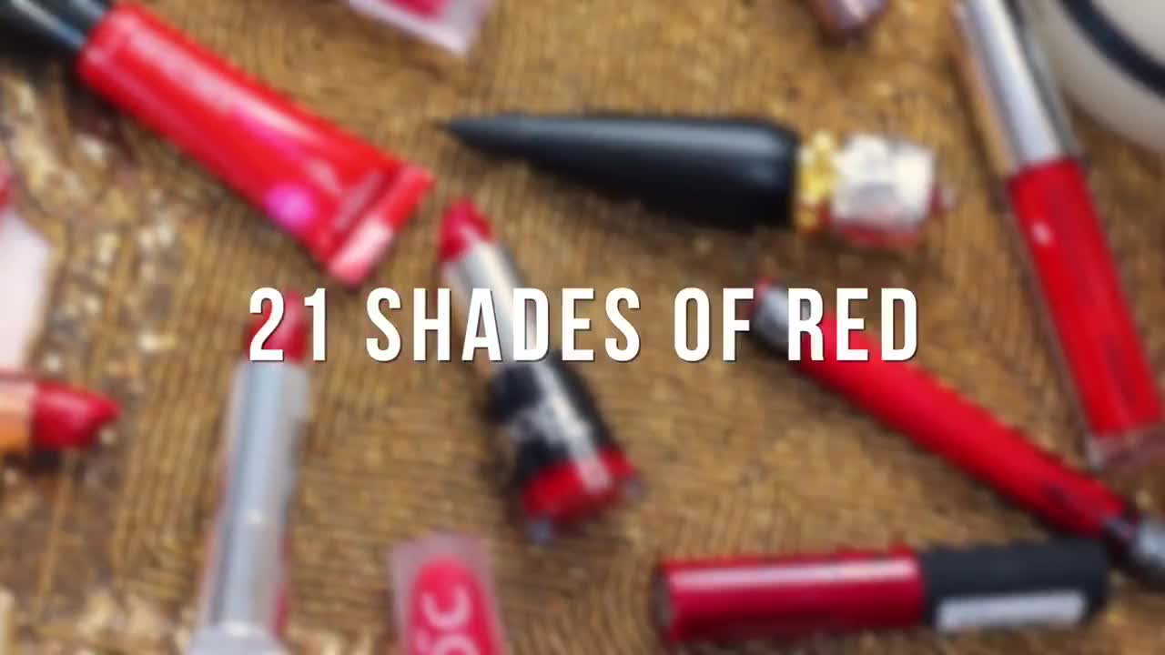 21 Classic Red Lip Colors for Brown,Tan,Olive Skin | Sifa's Corner