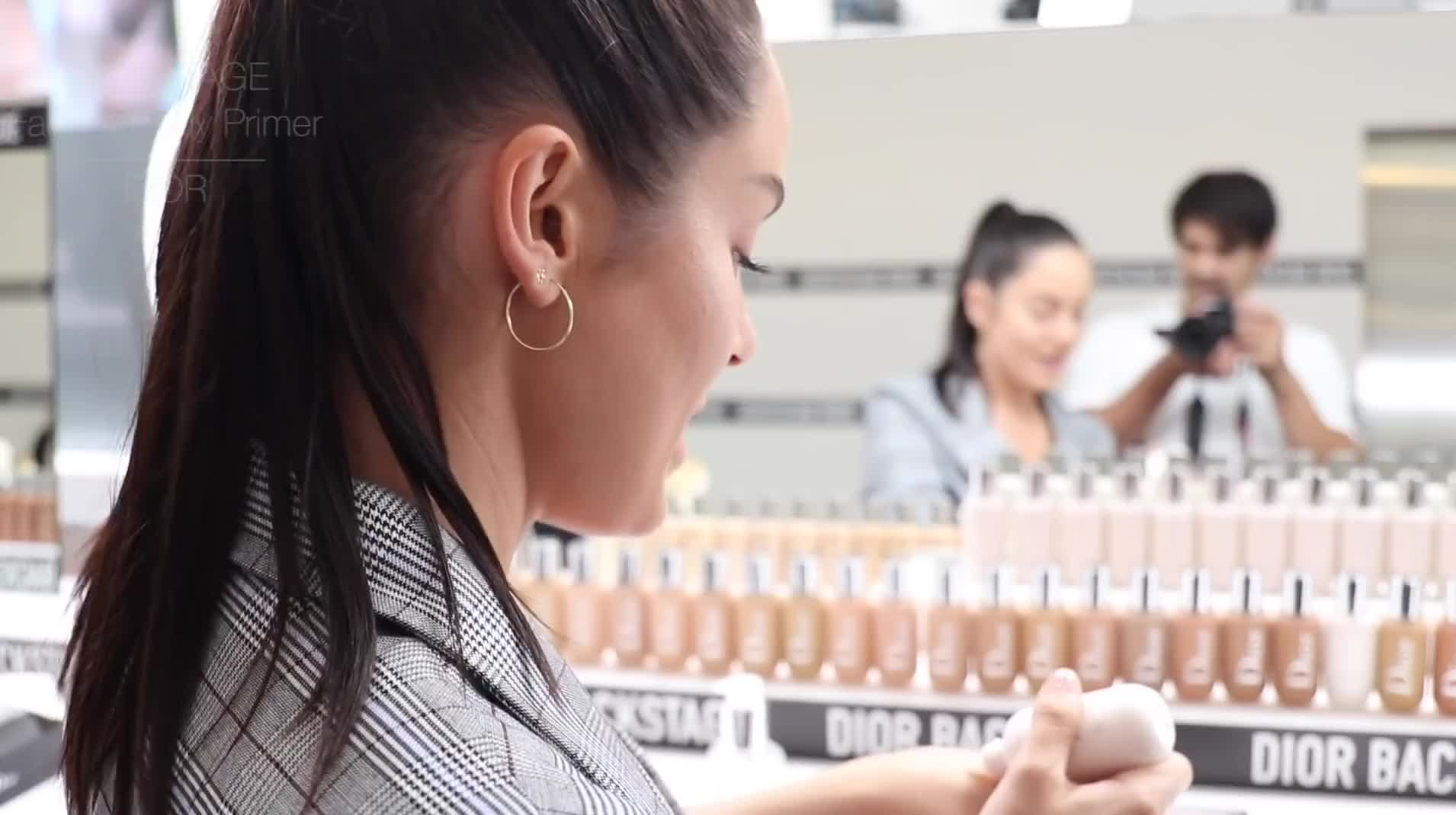A day in my life! At the Dior Backstage launch in Los Angeles \\ Chloe Morello