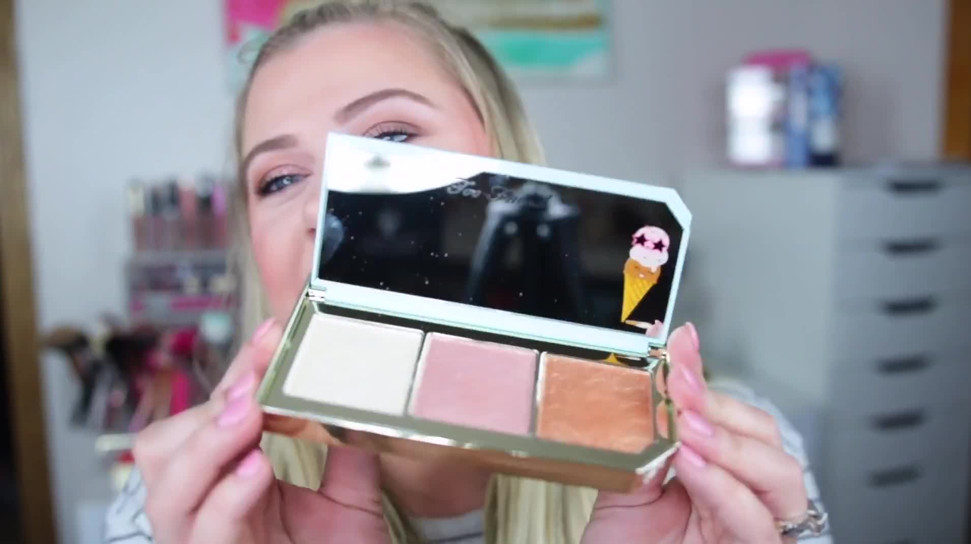 NEW TOO FACED TUTTI FRUTTI PRODUCTS - FIRST LOOK & TRY ON!