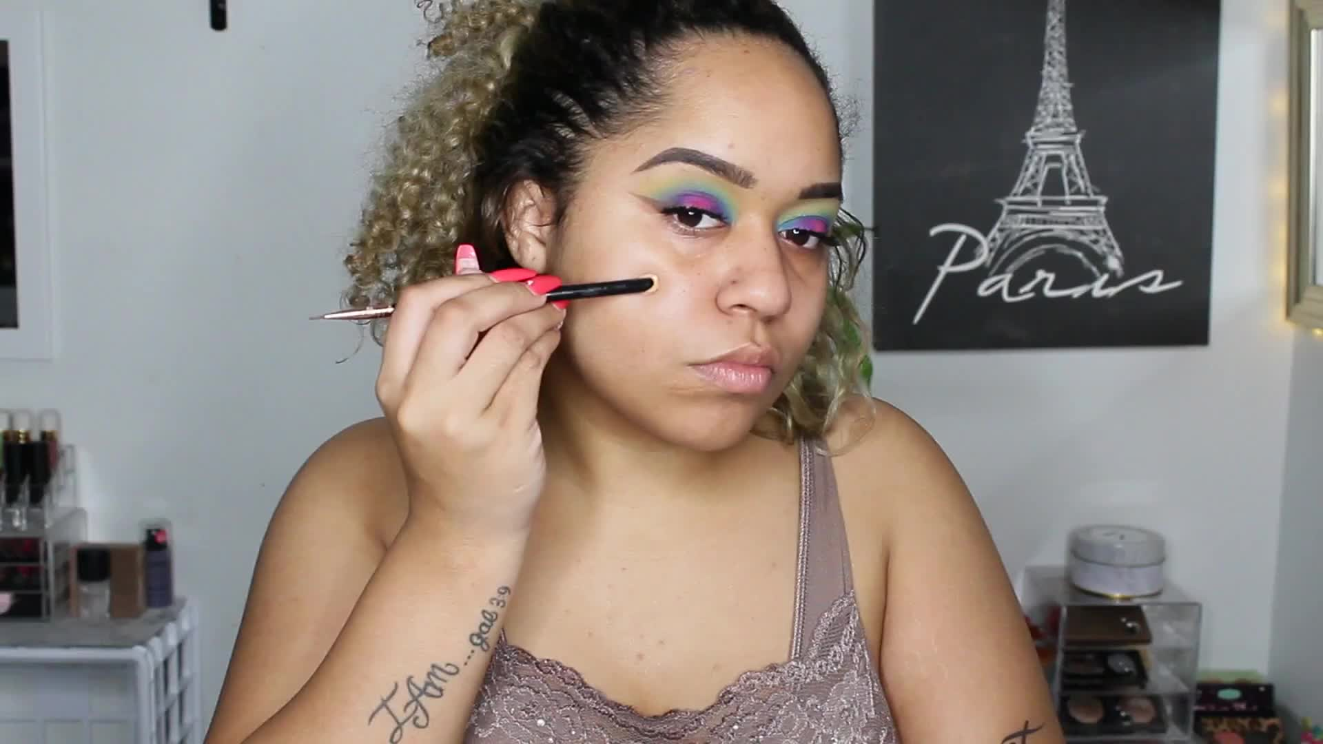 PARTY ANIMAL TUT 🎉 I USED EVERY SHADE!!!  | Micaylah