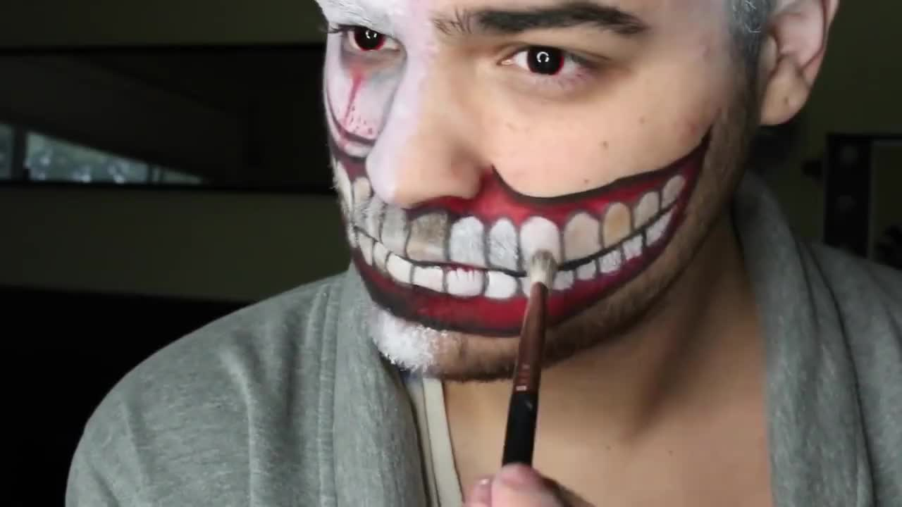 American Horror Story Freak Show Makeup Tutorial: Twisty The Clown | Alex Faction